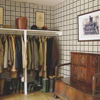 Bold Wallpaper Boot Room