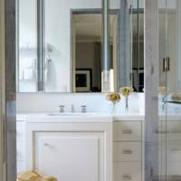 Bathroom - Modern Park Avenue Apartment