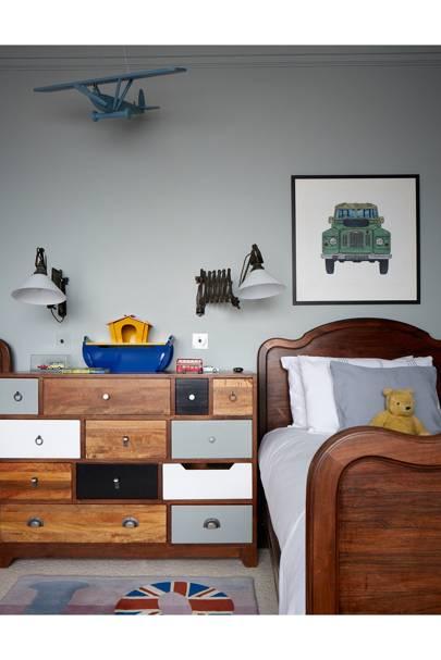 Boy's Bedroom - Modern Victorian Oxford House