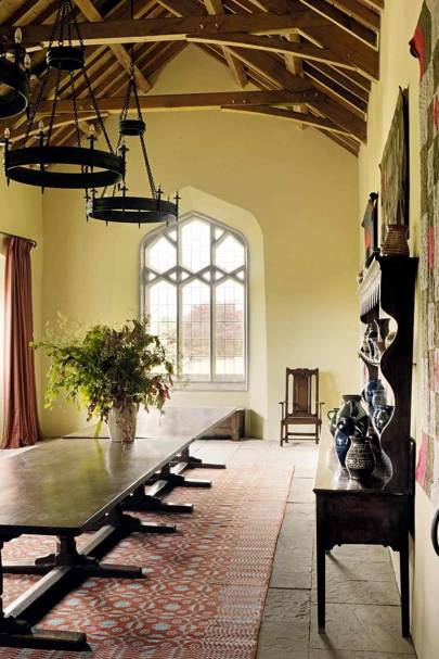Dining Hall - Prince Charles' Welsh Home