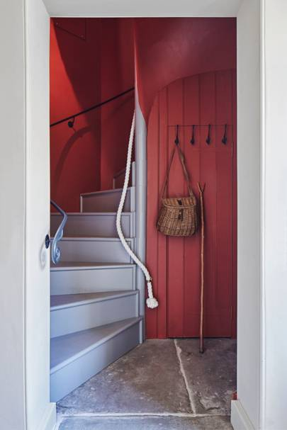 Red Staircase - Lamb's House in Leith