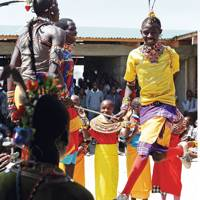 Traditional Dance - Segera Retreat Kenya