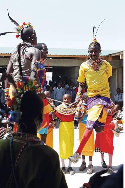 Traditional Dance - Segera Retreat Kenya