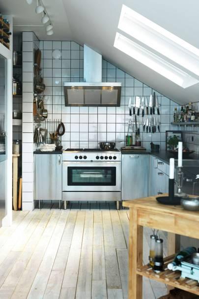 Industrial Kitchens - Kitchen Design Ideas & Pictures – Decorating ...