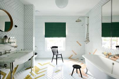 White Tiled Wet Room