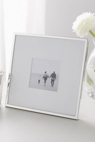January 13: The White Company Fine Silver Photo Frame - 3 X 3 inches, £25