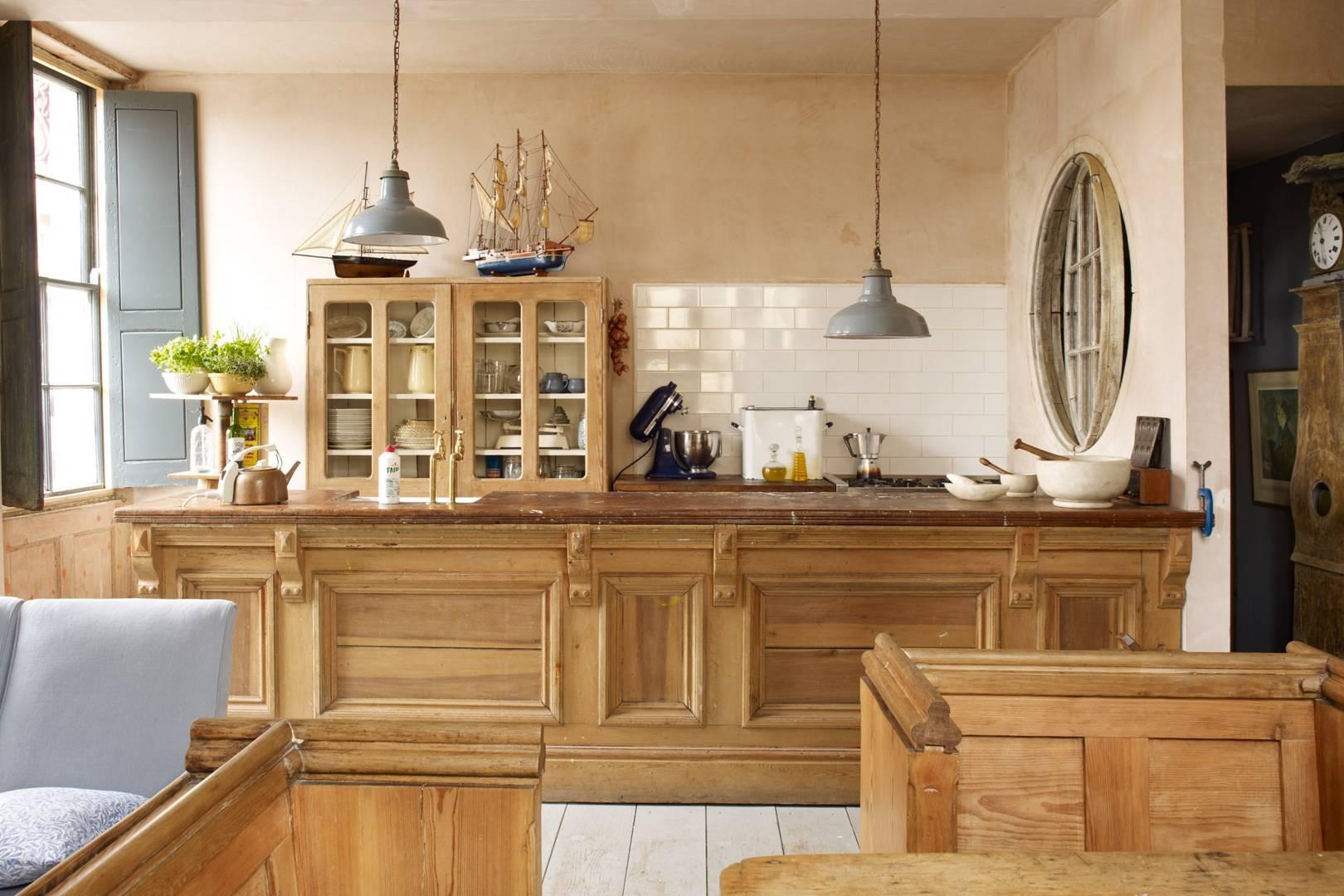 Wooden Kitchen Cabinets Wood Kitchens Ideas Designs House Garden
