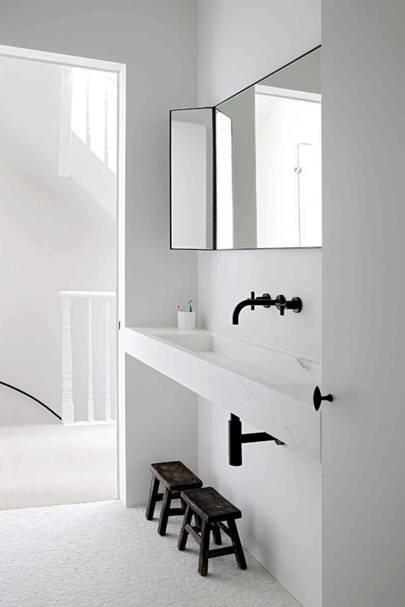 Bathroom Basin - Architect's Pale Family Home