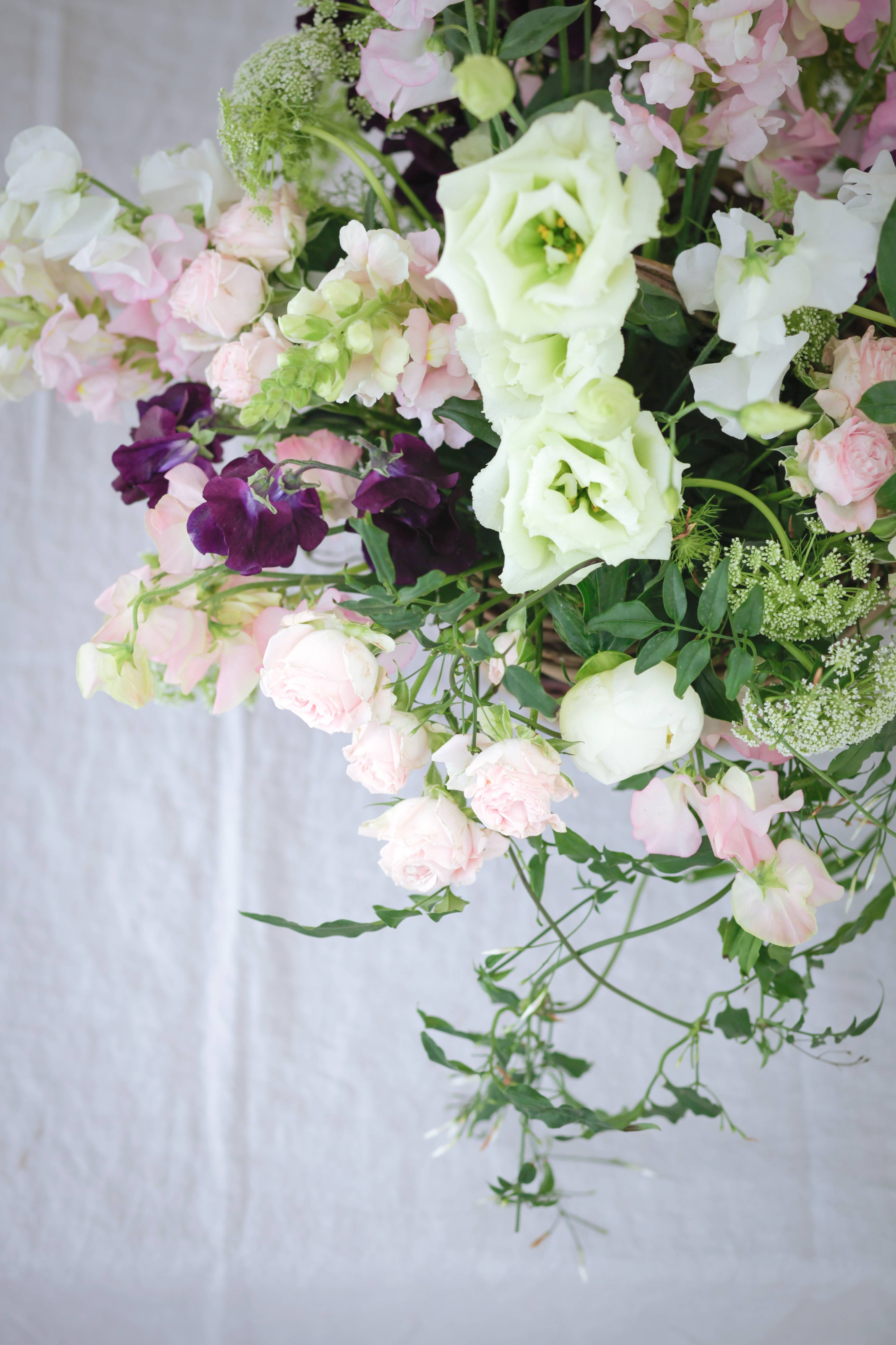 Flower workshops: floristry inspired by nature at Daylesford