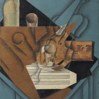 JUAN GRIS (1887–1927) La table de musicien