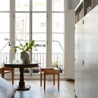 Bedroom Window - Anna Valentine's Bright London Flat