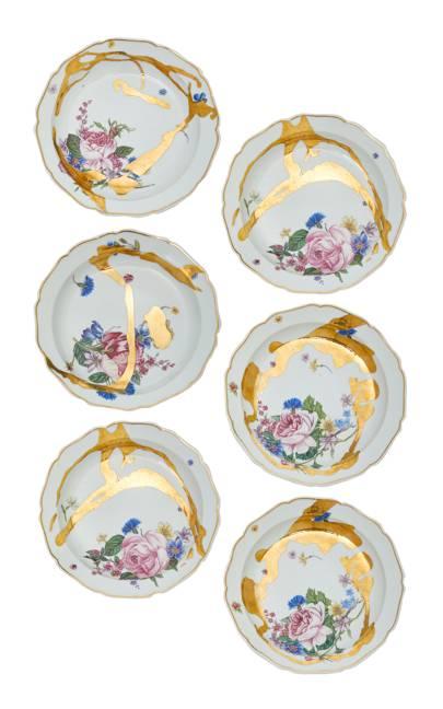 DeGournay x Jeffery Bilhuber plates, POA