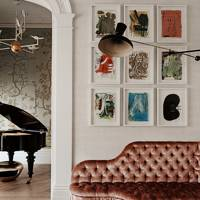 Corridor Sofa - At Home: Maddux Creative London House