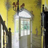 Yellow Mural Hall