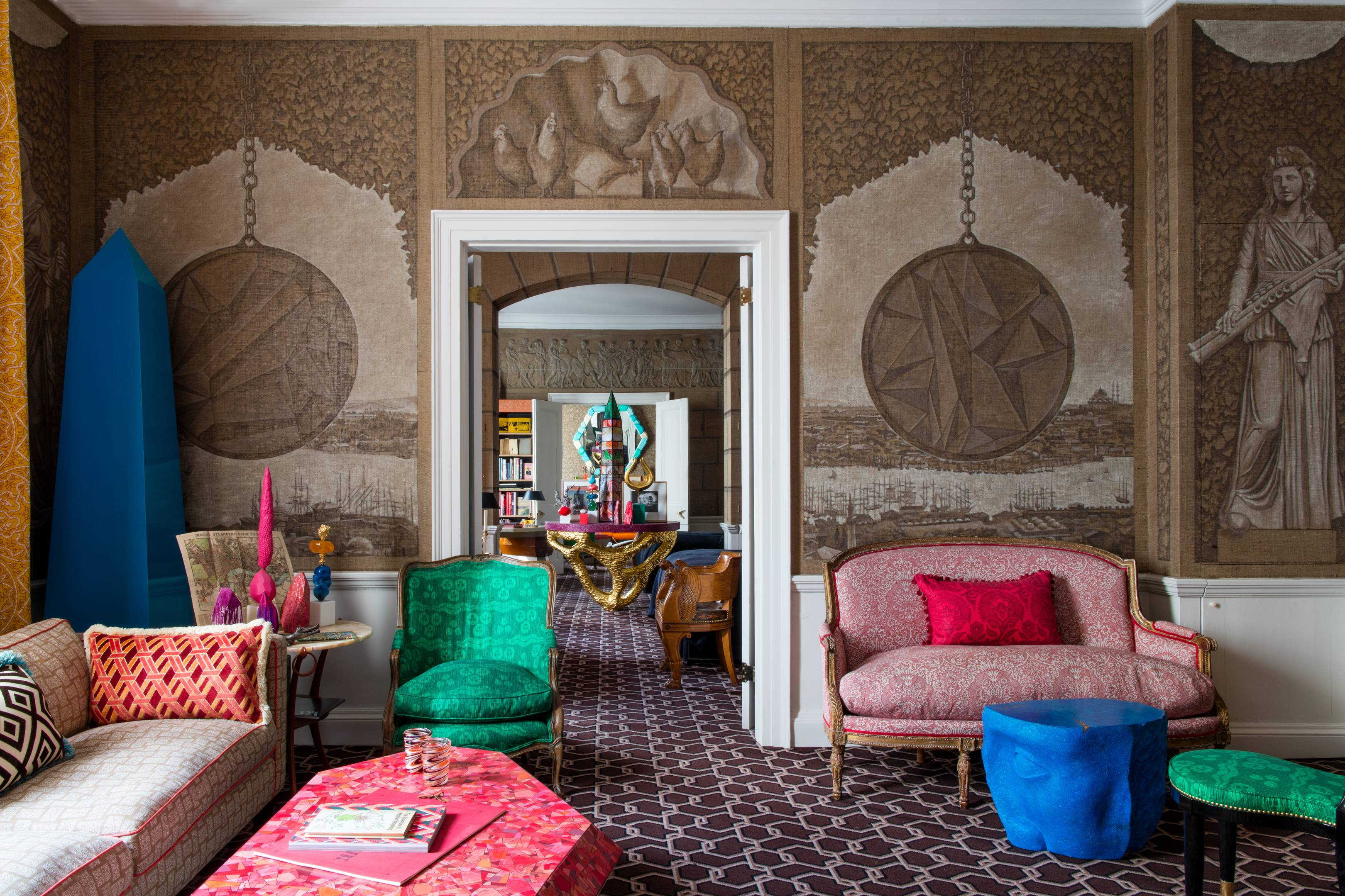 Ashley Hicks on the historical inspiration behind his interior designs