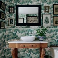 Bathroom Wallpaper Ideas House Garden