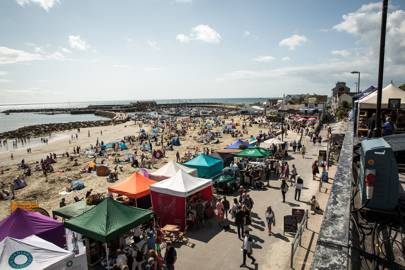 Food Rocks, Lyme Regis, September