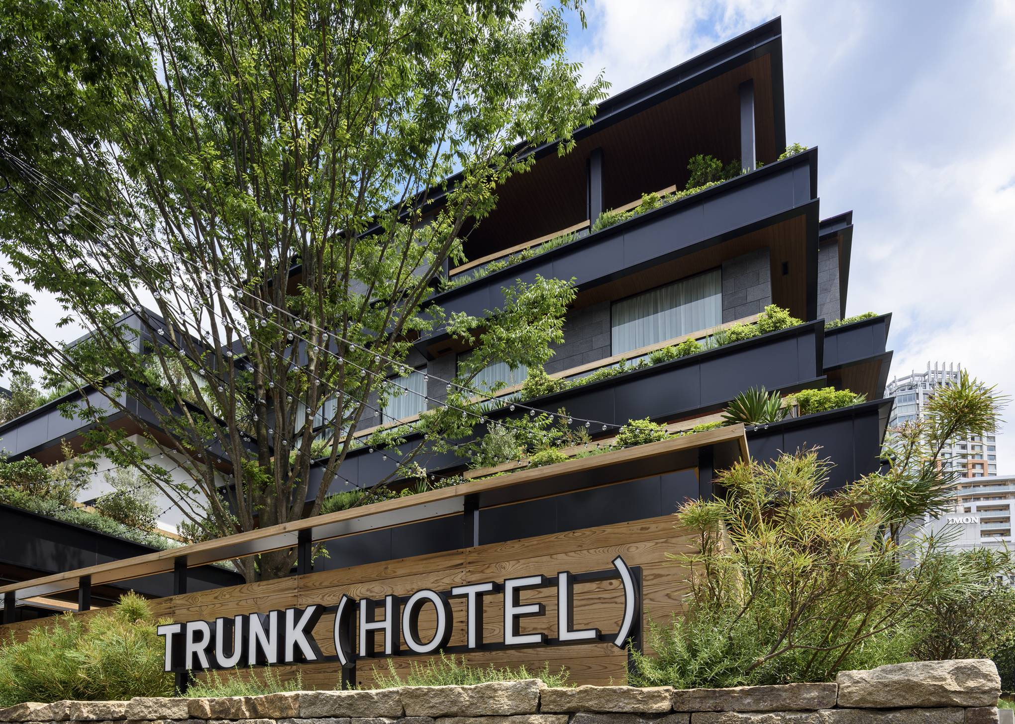 The contemporary boutique Trunk Hotel is an ideal base for exploring Tokyo