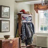 Entrance Hall Coat Rack - Traditional Hampshire Country House