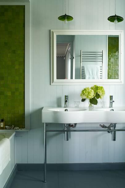 Green Bath Tiles