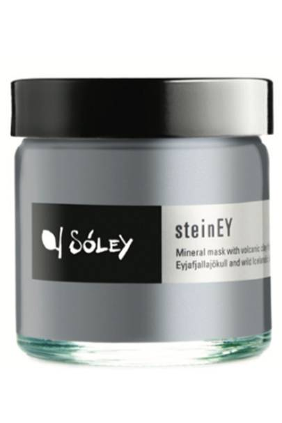 June 6: Sóley Organics steinEY mineral mask with volcanic ash, £25