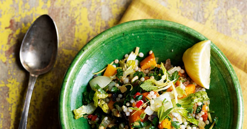 Recipes with couscous or quinoa news and features