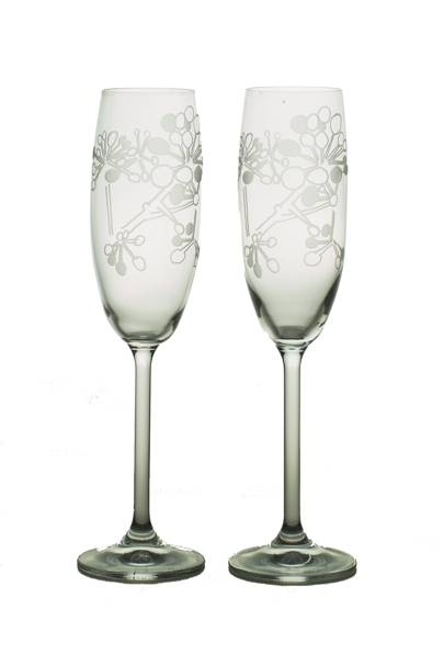 July 11: Pair of Berry Flutes, £85, from Sara Newman Designs