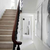 Staircase - Architect's Pale Family Home