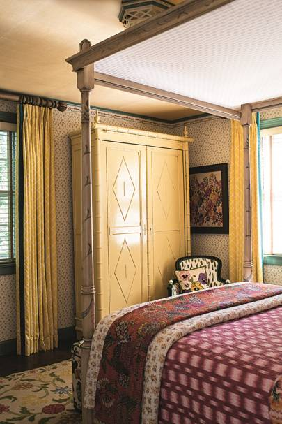 Spare Bedroom Wardrobe -  Madcap Cottage Bright Pattern House