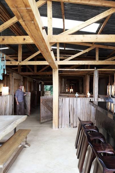 Stables Bar - Segera Retreat Kenya