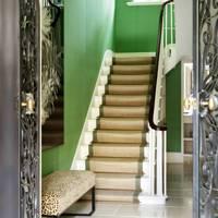 Green Scheme in Hallway