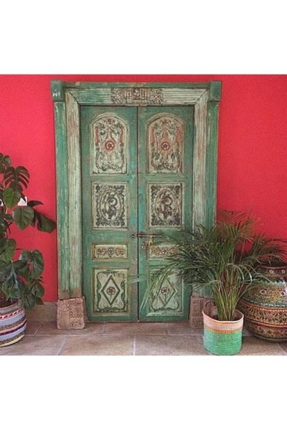Red India Door - Door J'adore