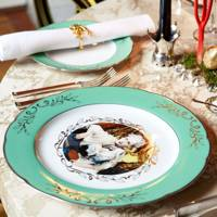 Traditional tableware with a modern twist