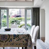 Tiled Conservatory Dining Room
