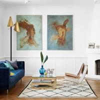 Living Room - Scandinavian Home of Pernille Teisbaek