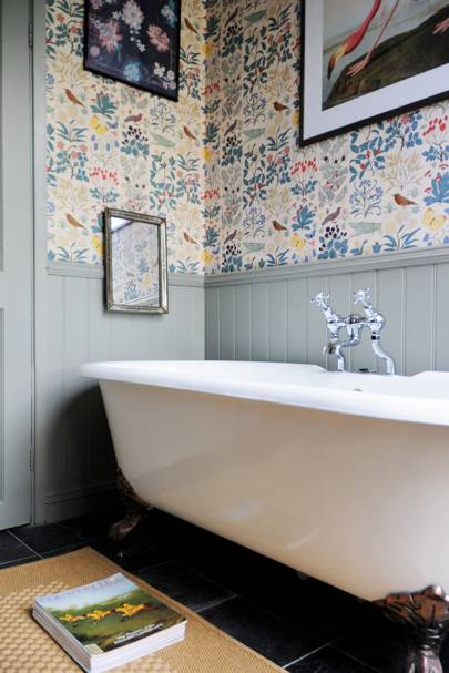 Luke Edward Hall London Flat - Bathroom