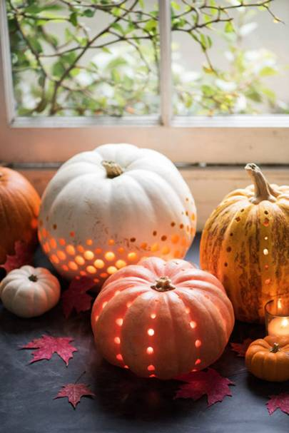 Carved Pumpkins - DIY Halloween