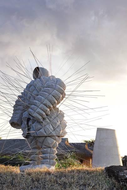 Sculpture - Segera Retreat Kenya
