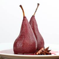 Poached Spiced Pear = 100Kcals