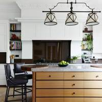 Discreet Panelled Units & Pendant Lighting