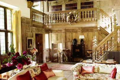 Library Sitting Area - Wardington Manor