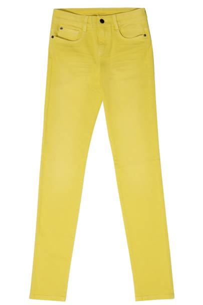 Moppy Yellow Mid Jeans