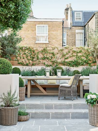 Patio And Decking Ideas For Gardens House Garden