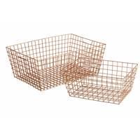 Copper baskets