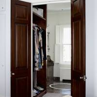 Corridor clothes storage