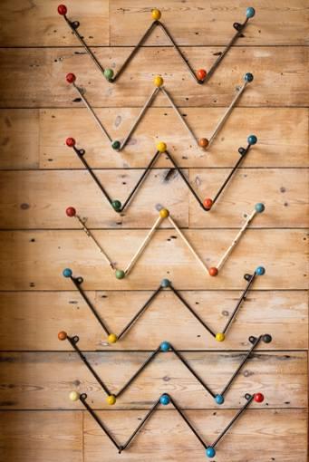 Mid Century Ball Hooks, £78