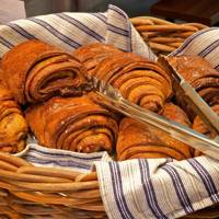 Cinnamon Buns at The Nordic Bakery