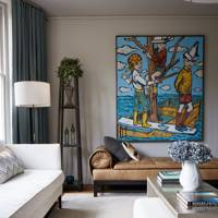 Drawing Room Art - Modern Victorian Oxford House