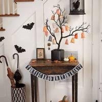 Trick or treat table