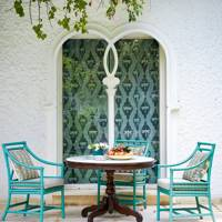Outdoor Seating Area - Colours of India